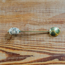 Long Spoon with Kazuri Pink Kikapu Bead