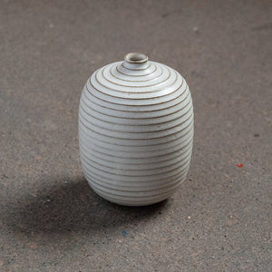 Mini Ribbed Bud Vase