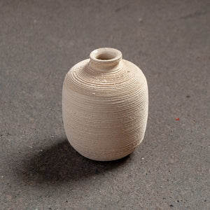 Lined Mini Bud Vase