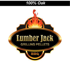 Oak 100% Lumber Jack Pellets - 20 lb. bag