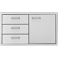 Delta Heat Door & 2-Drawer Combo, DHDD-B