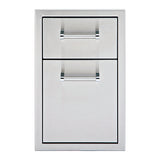 "13"" Delta Heat Double Drawer, DHSD132-B"