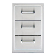 "13"" Delta Heat Triple Drawer, DHSD133-B"