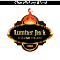Char Hickory Blend Pellets Lumber Jack - 20 lb. bag