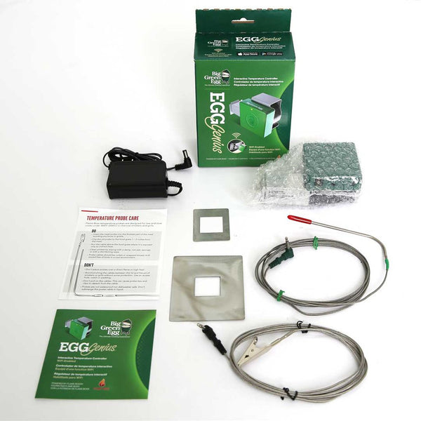 EGG Genius Temperature Controller Powered by Flame Boss - Big Green EGG 121028