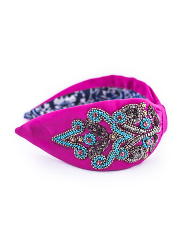 NEISHA BEADED HEADBAND