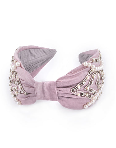 Dusky Rose Headband