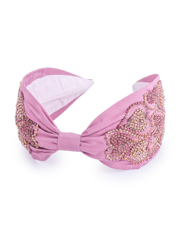 Bubble Gum Heart Headband