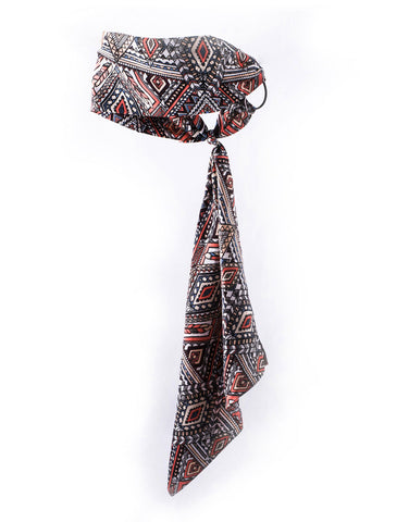 Aztec Printed Headscarf