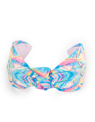 Irridecsent Twisted Headband