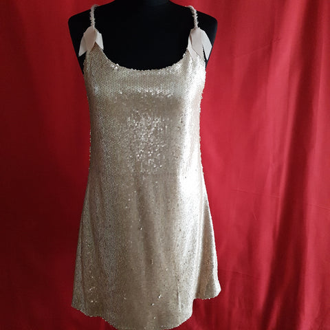 Darling Women's Sequin Gold Dress Size 8 / 36