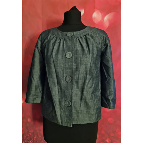 Calvin Klein womens grey jacket size XS