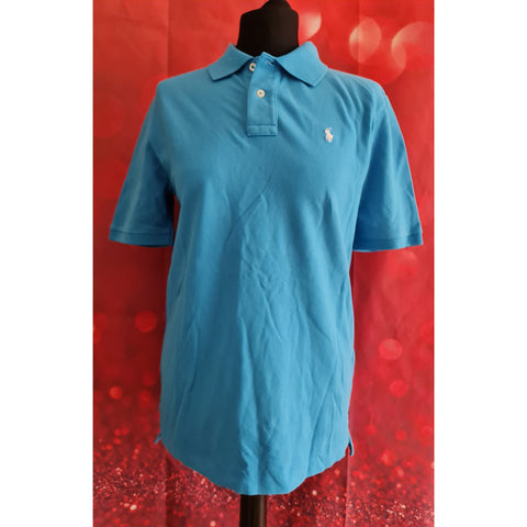 Polo Ralph Lauren boys blue t-shirt size L 14-16 years