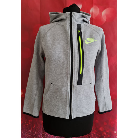 Nike boys grey hoodie size 10-12 years