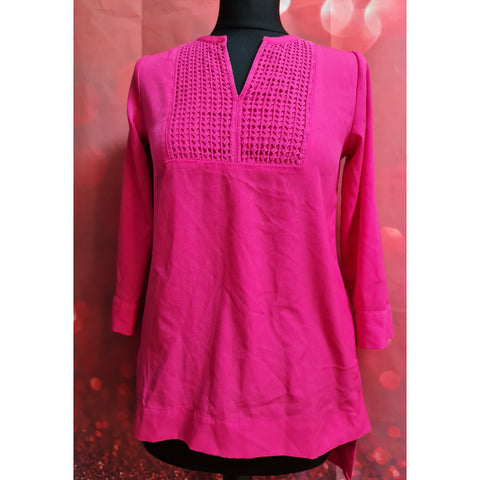 The Limited pink blouse 3/4 sleeve size XS