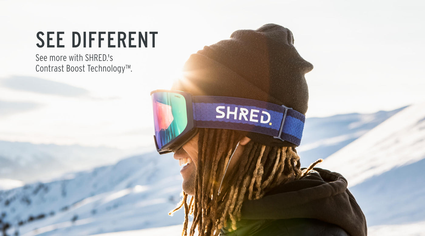 SHRED. | Goggles, Helmets, Sunglasses and Body Protection