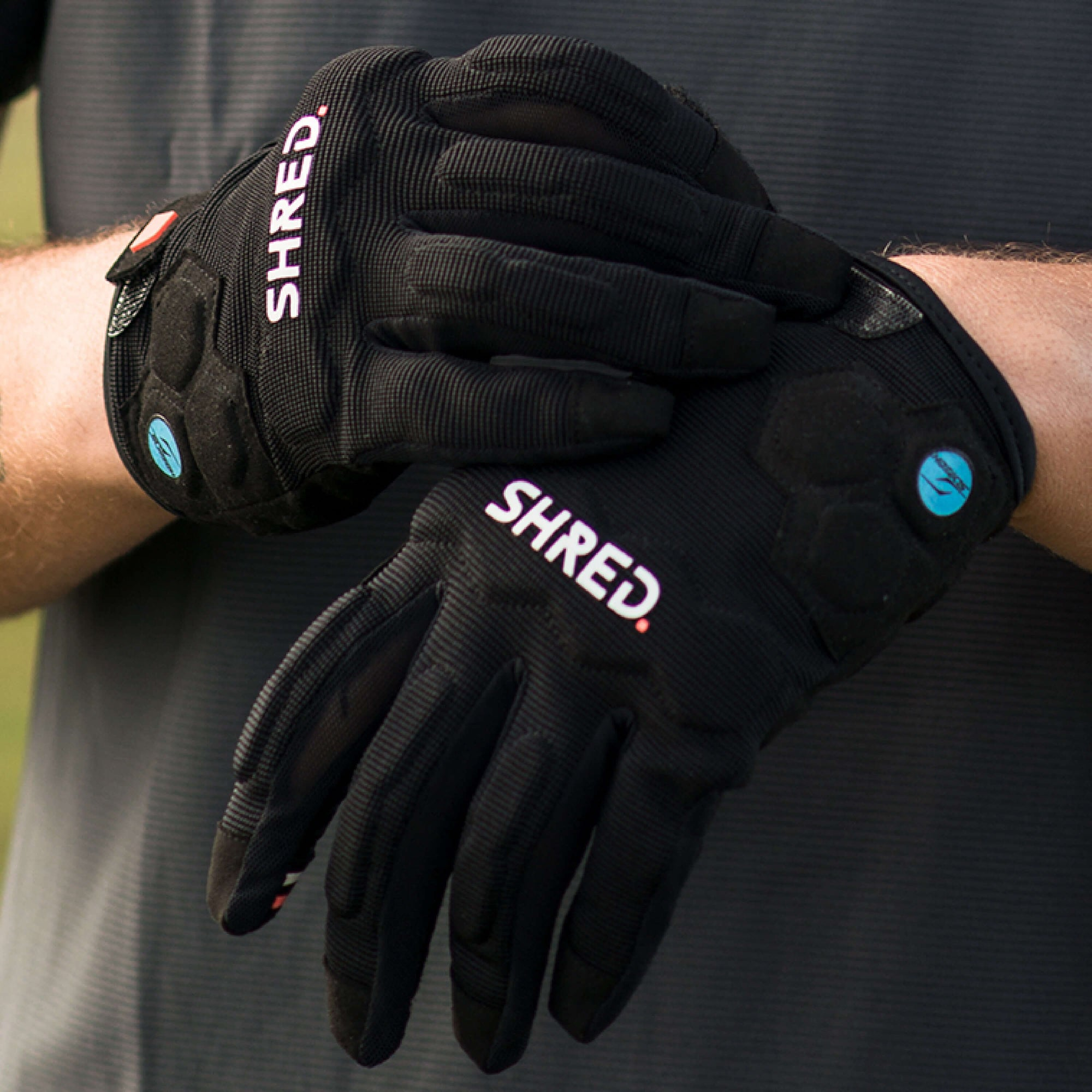 Mtb Protective Gloves Trail Black - Protective Gloves