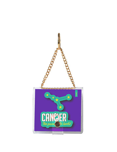 MINI KEYCHAIN NOTEBOOK CANCER