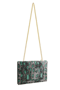 FANCY NOTE-BAG GREEN SNAKE
