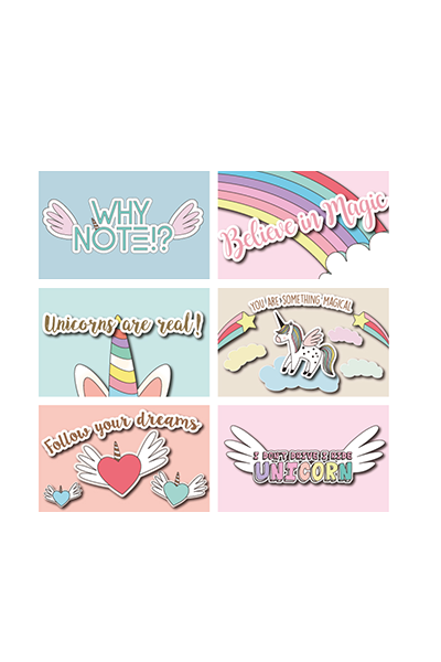 UNICORN CARD SET