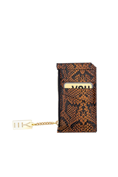 WHY NOTE!? SNAKE MIRROR MINI WALLET