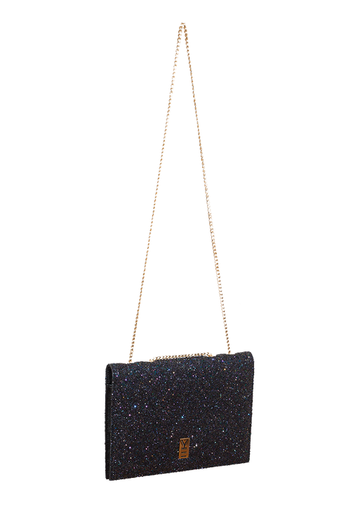 FANCY NOTE-BAG NAVY GLITTER