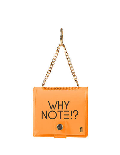 MINI KEYCHAIN NOTEBOOK ORANGE
