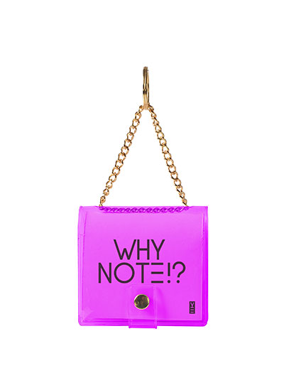 MINI KEY CHAIN NOTEBOOK PURPLE
