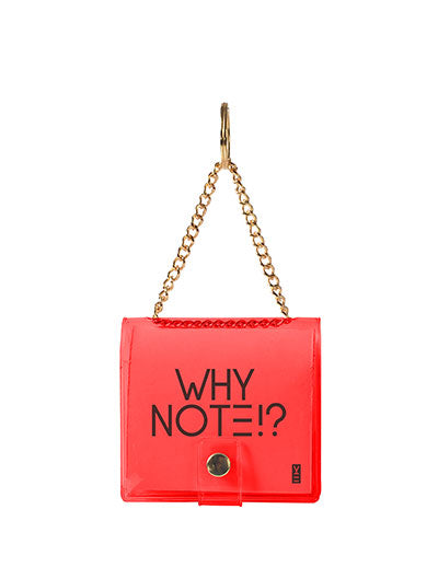 MINI KEYCHAIN NOTEBOOK RED