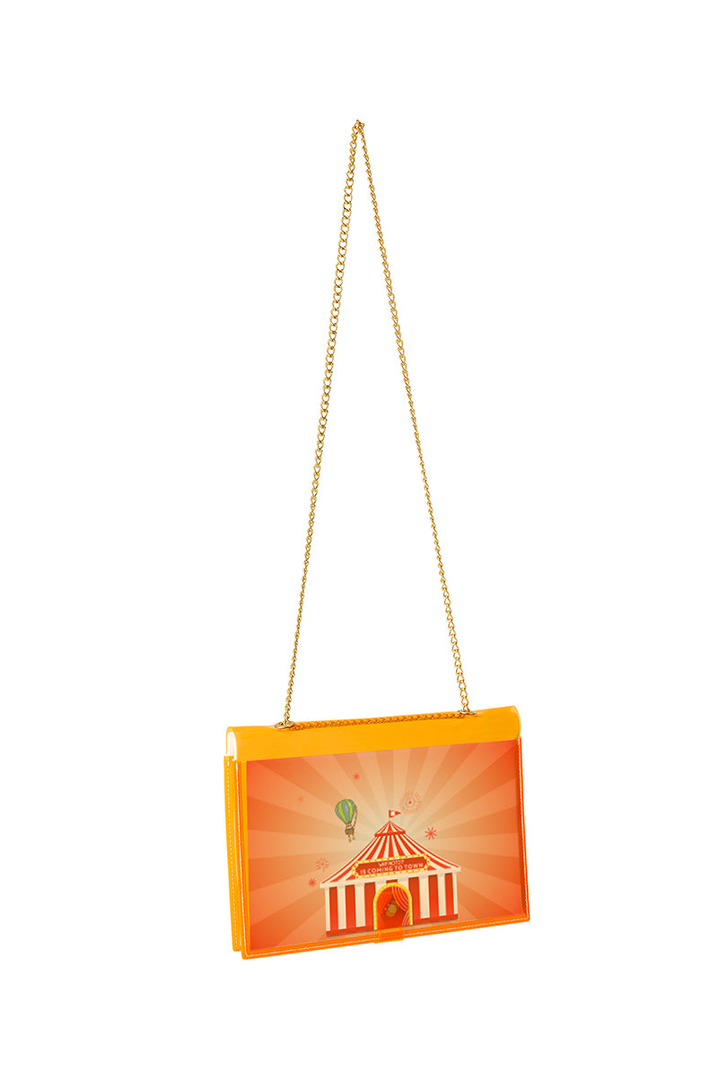FUN NOTE-BAG NEON ORANGE KIDS