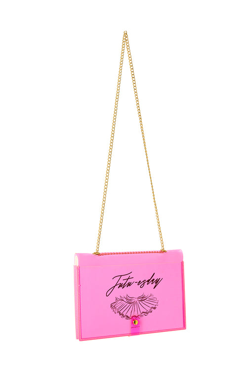 FUN NOTE-BAG NEON PINK DAYS