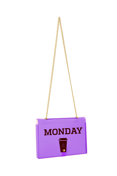 FUN NOTE-BAG NEON PURPLE DAYS