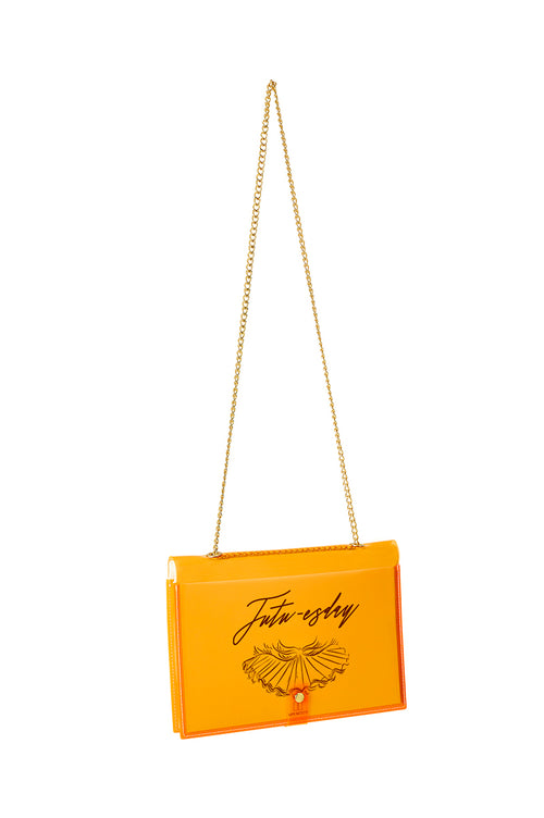 FUN NOTE-BAG NEON ORANGE DAYS