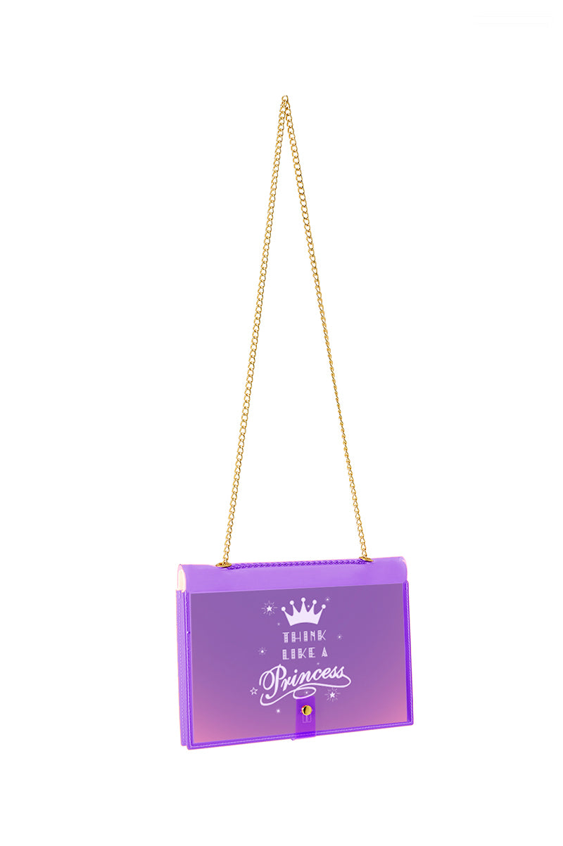 FUN NOTE-BAG NEON PURPLE KIDS