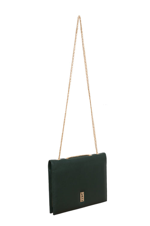 CLASSY NOTE-BAG GREEN & NAVY
