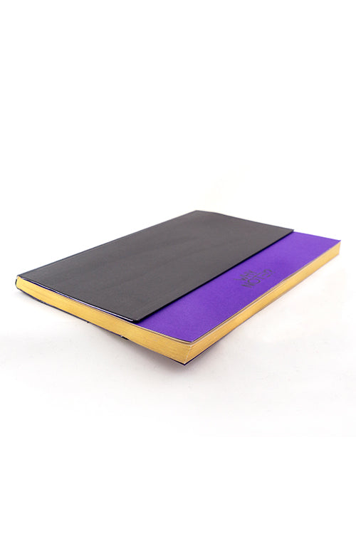 WHY NOTE!? NOTEBOOK BLACK PURPLE