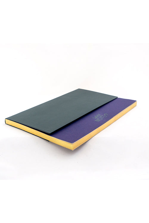 WHY NOTE!? NOTEBOOK GREEN NAVY