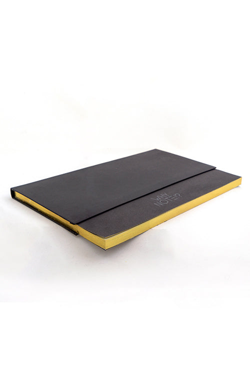 WHY NOTE!? NOTEBOOK BLACK BLACK