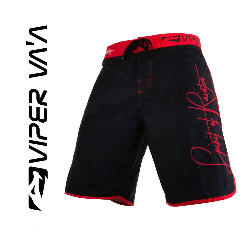 Viper Shorts (Black/Red)