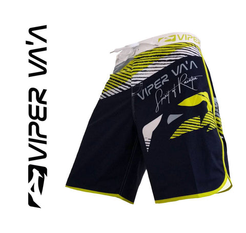 Viper Shorts (Blue/Yellow)
