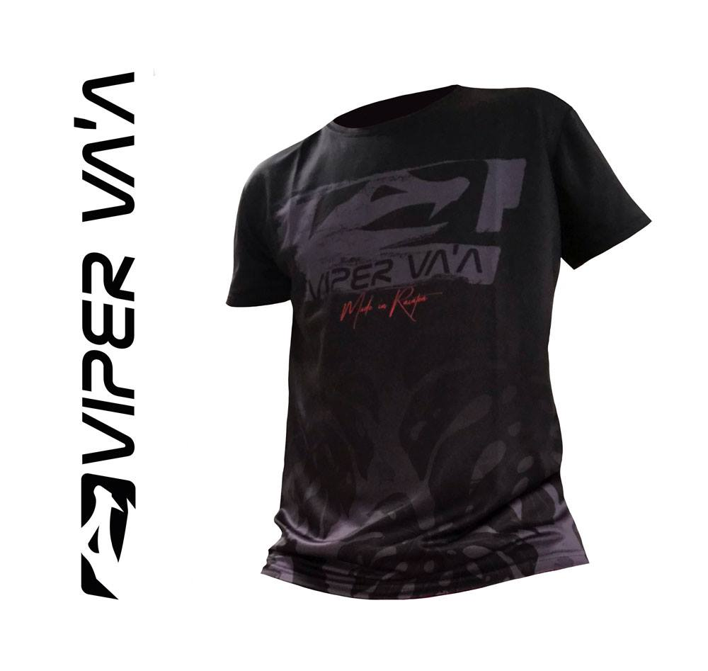Viper T-Shirt (Black/Red)