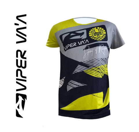 Viper T-Shirt (Blue/Yellow)