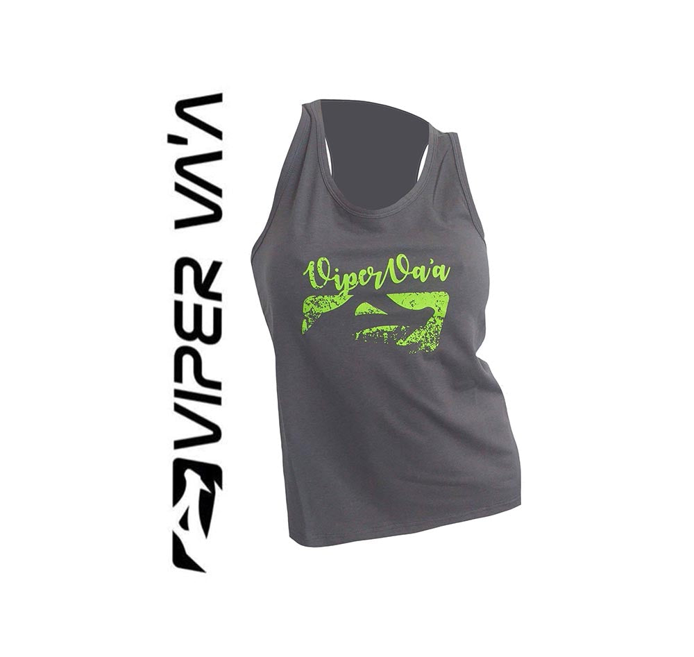Grey/Green Vahine Tank
