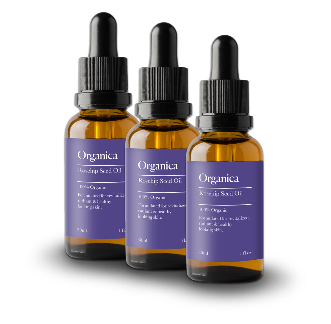 3 x Rosehip Oil 30 Day Subscription