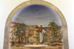mary magdalena chapel replica canvas luke 8: 1-2