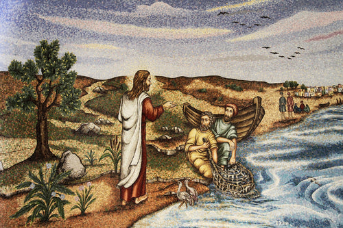 Fishers of Men Chapel -Replica on canvas of Mosaic Chapel Mural (2 SIZES)