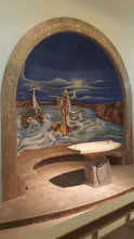 walking on water chapel replica canvas matthew 14:29-31