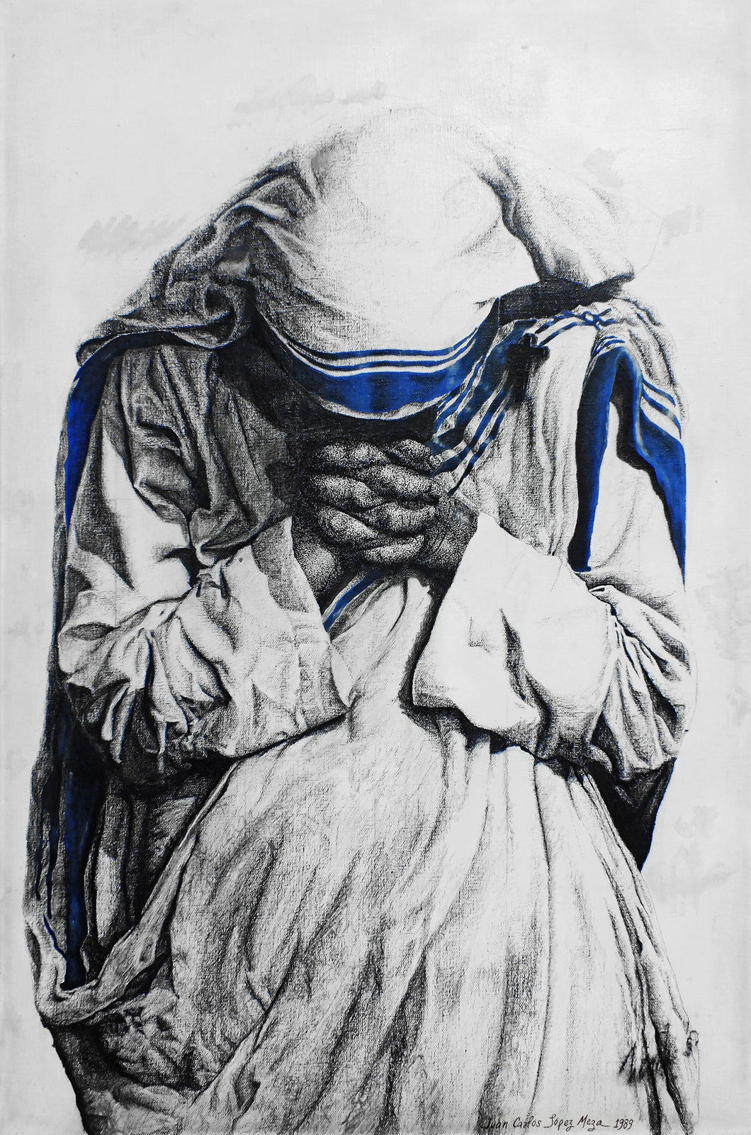 Mother Teresa of Calcutta - Canvas Replica (1 SIZE)