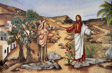 Mary Magdalene Chapel - Replica on canvas of Mosaic Chapel Mural (2 SIZES)