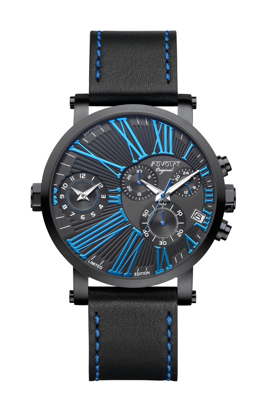 TRAVELLER XXL Dual Time Chronograph
